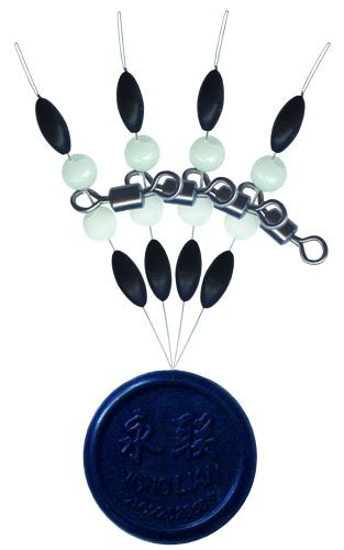 Cralusso Swivel with pearl beads & rubber stopper