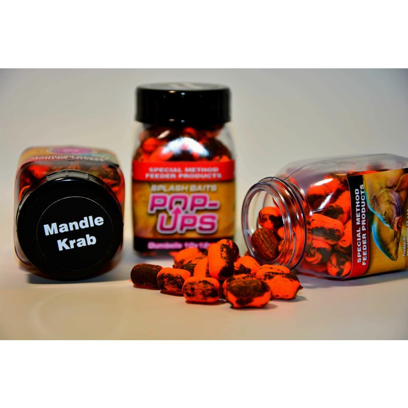 Splashbaits Method Feeder pop-up Krab Mandle 10 x 12mm