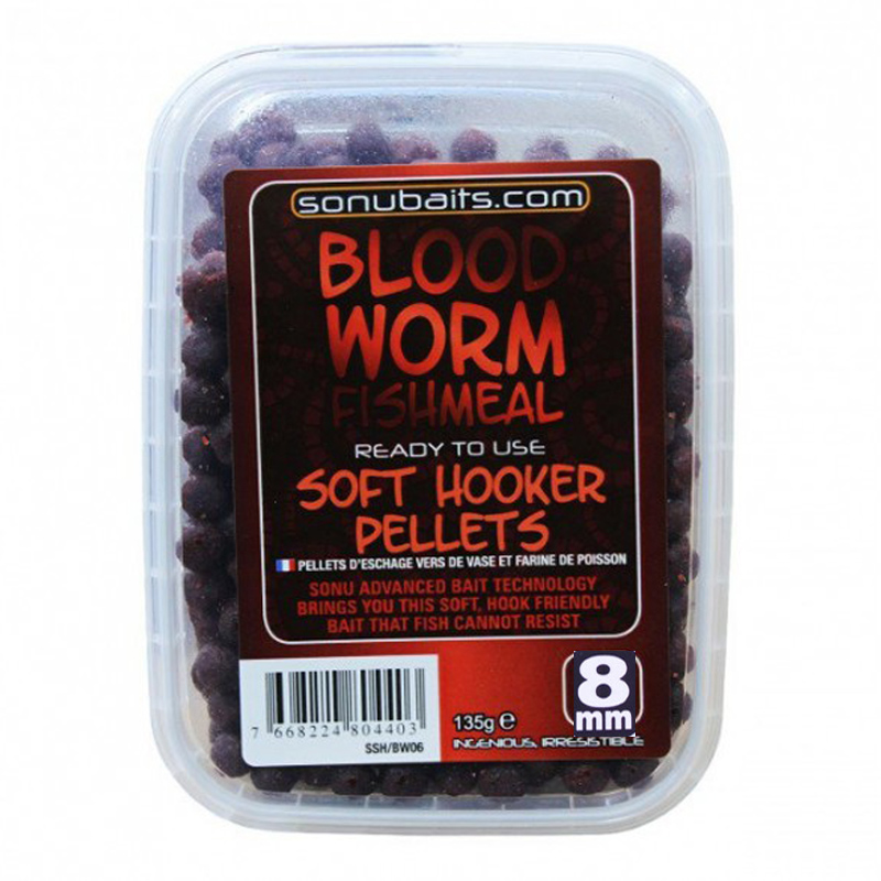 Sonubaits pelety Soft Hookers 8 mm