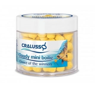 Cralusso boilies Cloudy Mini boilies 8x12 mm