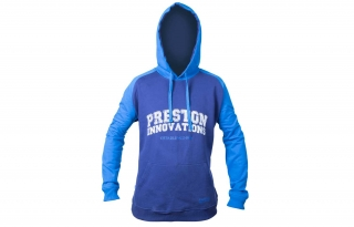 Preston Mikina Two Tone Blue Hoodie