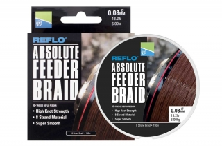Preston Pletená Šňůra Absolute Feeder braid 150 m
