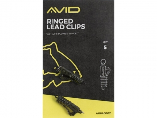 Avid Carp Outline Ringed Lead Clips