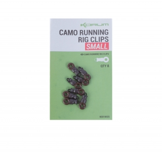 Korum Camo Running rig clip small