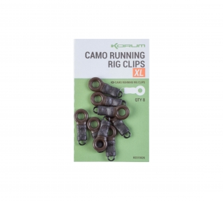 Korum Camo Running rig clip XL