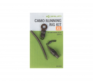 Korum Camo XL Running rig kit