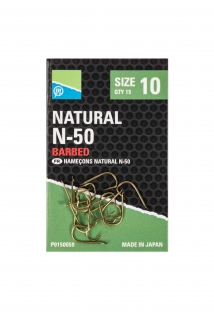 Preston Natural N-50 hooks