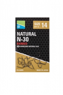 Preston Natural N-30 hooks