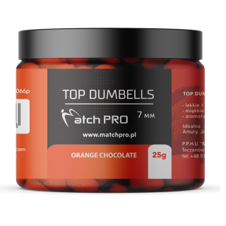 Match Pro Dumbells Orange Chocolate 7mm / 25g
