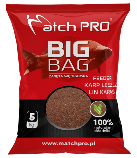 Match Pro Big Bag Feeder Kapr Cejn Lín Karas 5 kg
