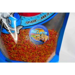 Splashbaits Method Feeder Pellets 3mm Česnek