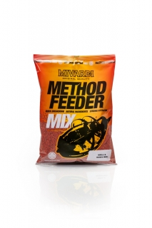 Mivardi Method feeder mix - Krill & Robin Red 1kg